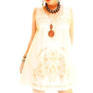 Mexican Dress Embroidered Handmade Aida Coronado